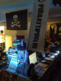 PirateParty booth on AltParty2008.jpg