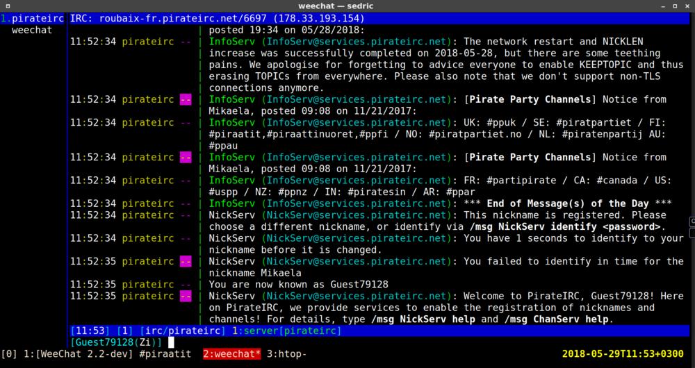IRC/Ohje – PiraattiWiki